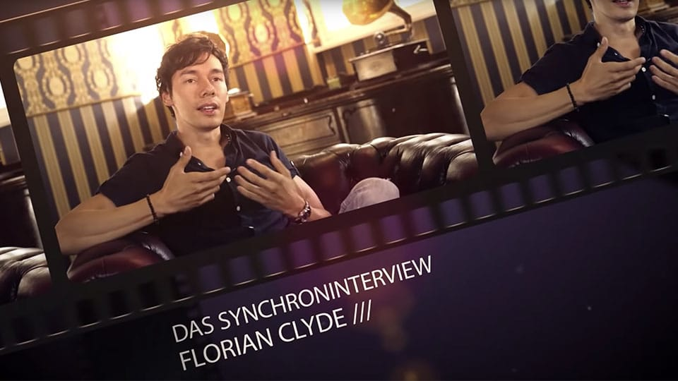 Florian Clyde im Interview bei den Media Patten